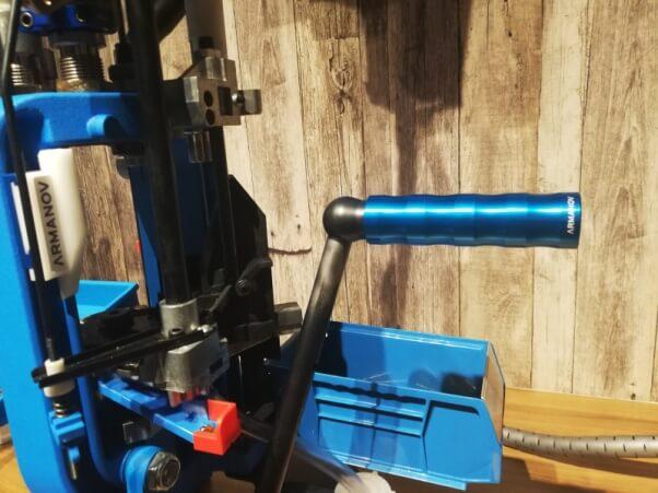 Ball Bearing Roller handle for dillon XL650 and RL550 (Aluminum) + THREAD  LOCK